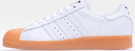 Adidas Originals Superstar 80s Dlx Ftw White Ftw White Gold Metallic