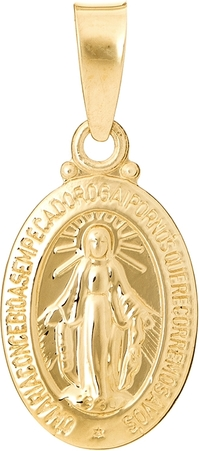 Ania Kruk Wisiorek MINI złoty medalik