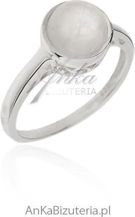 054ff98ee7cac4 Ankabizuteriapl Pierścionek Srebrny Z Kamieniem Księżycowym