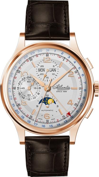 Atlantic Chronograph Universal 55851.44.25 Limited Edition - Moon Phase
