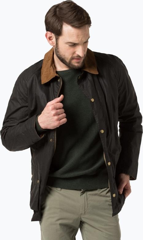 Barbour - kurtka męska – ashby, zielony