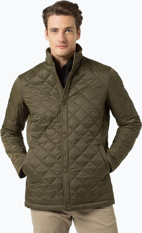 Barbour - kurtka męska – elgon, zielony