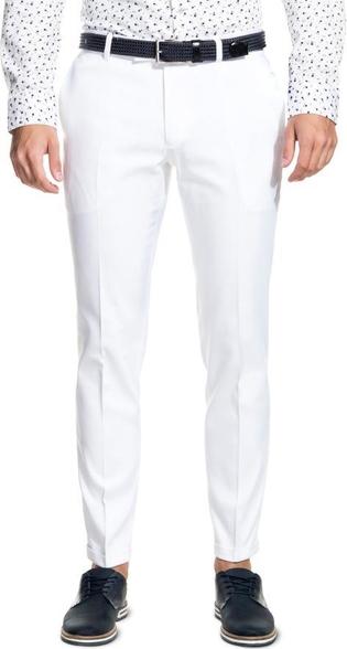 Beżowe spodnie giacomo conti