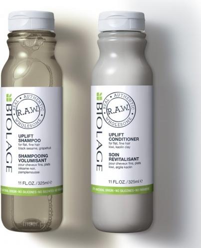 Biolage RAW Uplift szampon i odżywka zestaw do włosów cienkich 2x325ml
