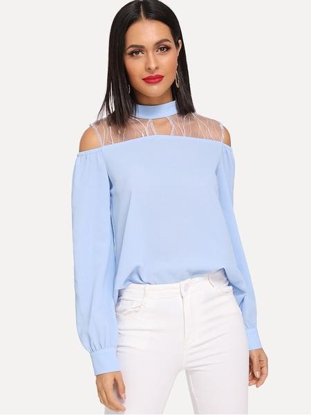 Błękitna bluzka Beauty_senses