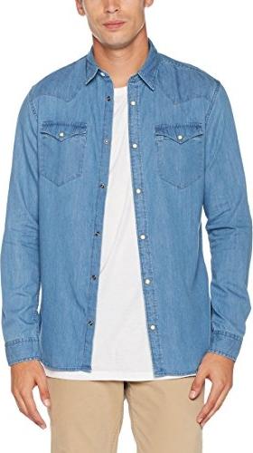 Błękitna koszula selected homme