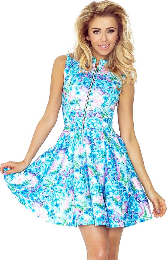 Błękitna sukienka NUMOCO