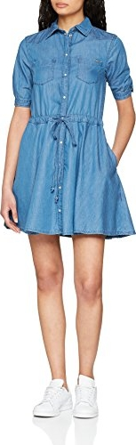 Błękitna sukienka pepe jeans