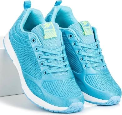 Błękitne buty sportowe Ax Boxing
