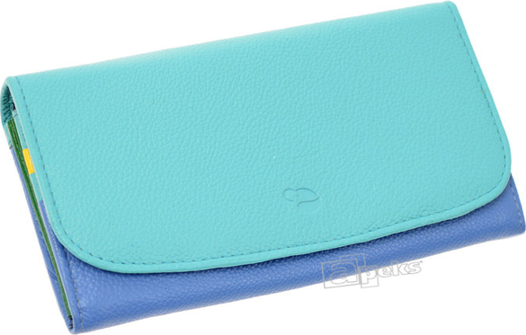 c6af3e8f6a7fc Błękitny portfel słoń torbalski