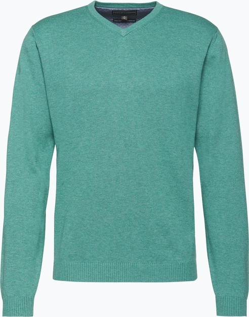 Błękitny sweter finshley & harding
