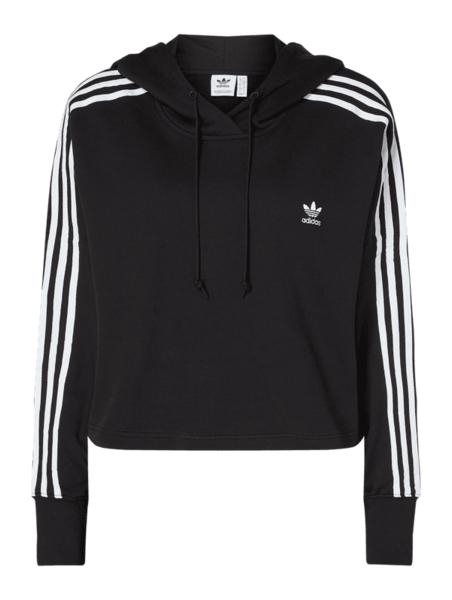 dobry Czarna bluza Adidas Odzież Damskie Swetry i bluzy