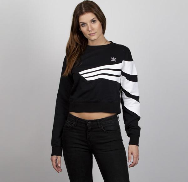 piękny Bluza Adidas Originals Odzież Damskie Swetry i bluzy