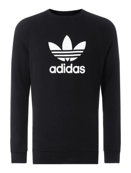 Bluza Adidas Originals z nadrukiem z bawełny