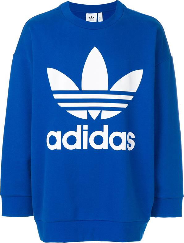 f5cdecba4 Niebieska bluza Adidas