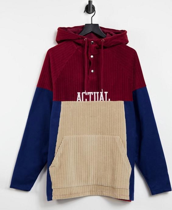 Bluza Asos Actual z bawełny