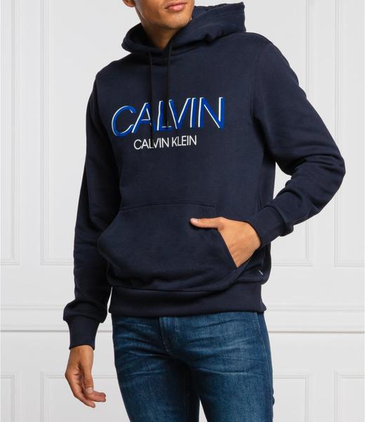 Bluza Calvin Klein z bawełny w młodzieżowym stylu