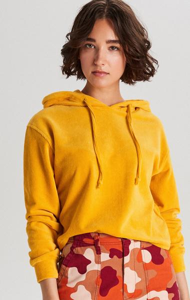 Bluza Cropp z weluru