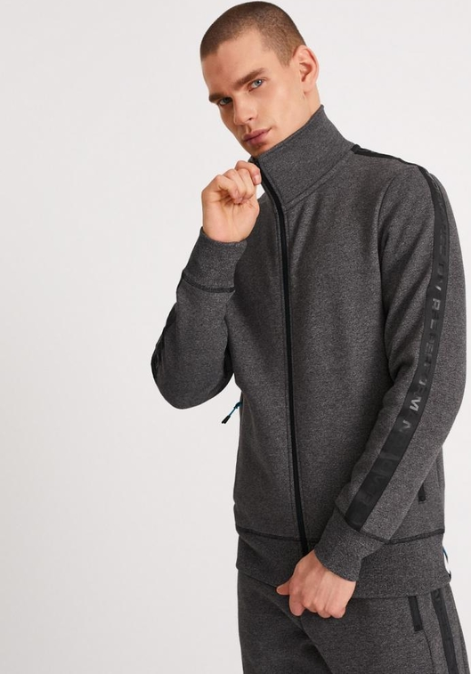 Bluza Diverse z bawełny w stylu casual
