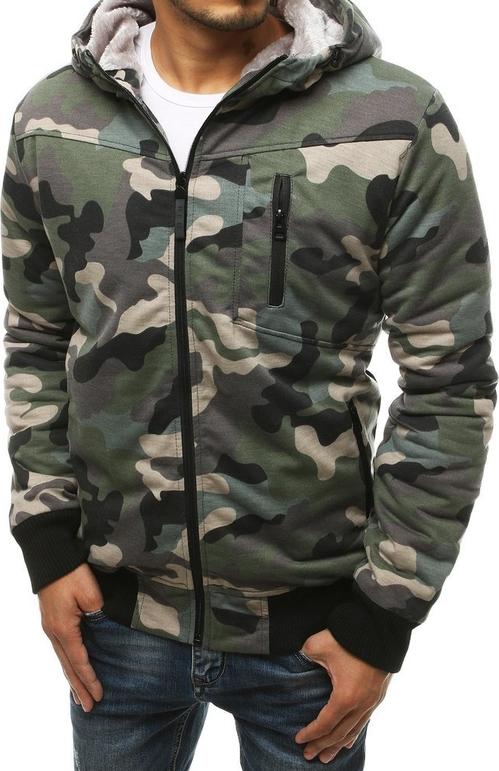 Bluza Dstreet w militarnym stylu z bawełny
