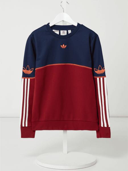Bluza dziecięca Adidas Originals z bawełny