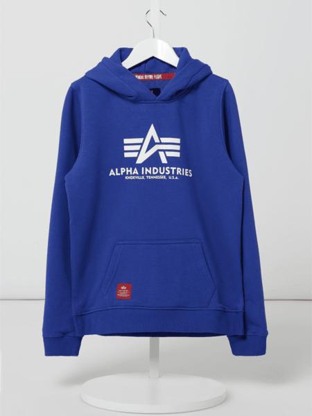 Bluza dziecięca Alpha Industries z bawełny