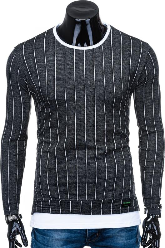 Bluza Edoti z nadrukiem w stylu casual