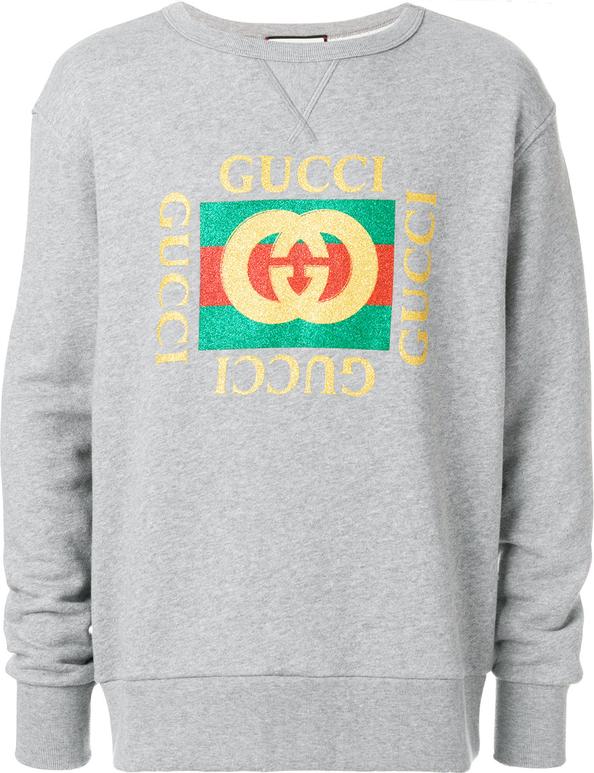 fb789d6dd1457 Bluza Gucci w młodzieżowym stylu z bawełny