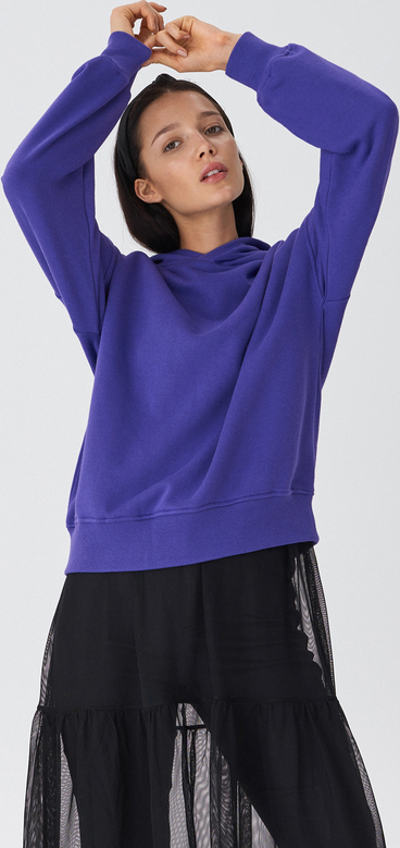 70% ZNIŻKI Granatowa bluza Adidas Odzież Damskie Swetry i