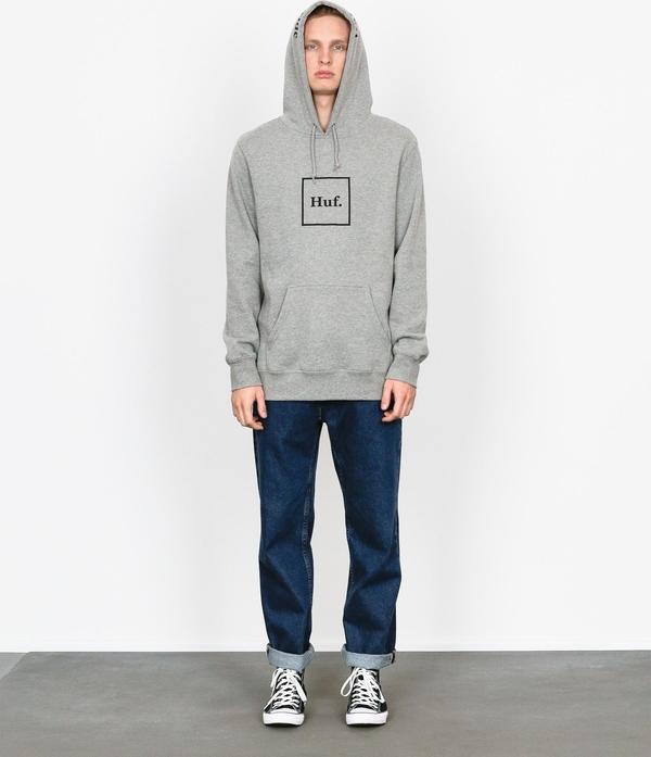 Bluza HUF w młodzieżowym stylu z bawełny