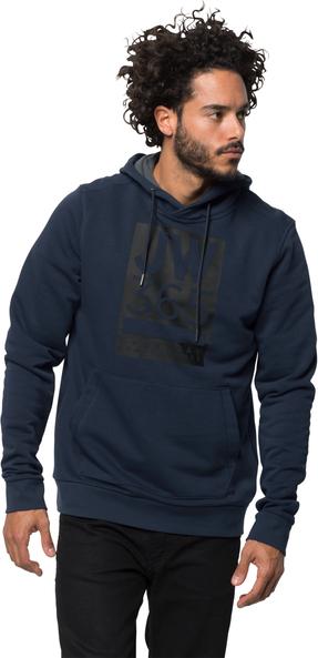 Bluza Jack Wolfskin z bawełny w młodzieżowym stylu
