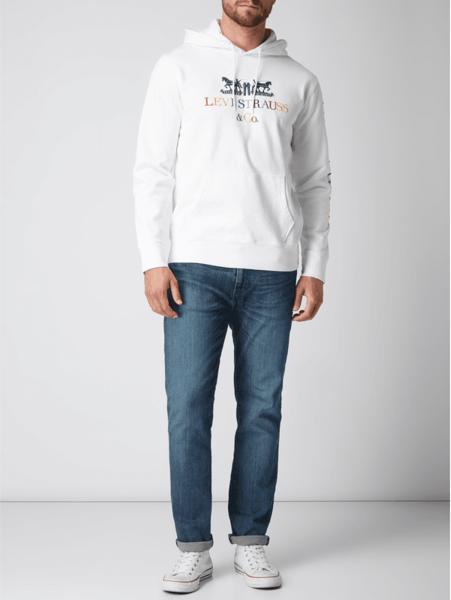 tani Czarna bluza Levis z dzianiny Odzież Męskie Swetry i