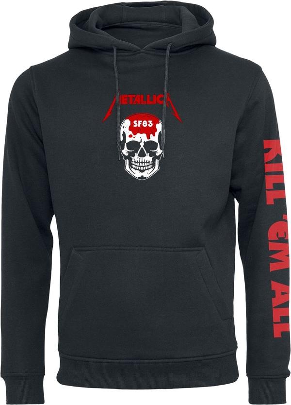 Bluza Metallica w młodzieżowym stylu z bawełny
