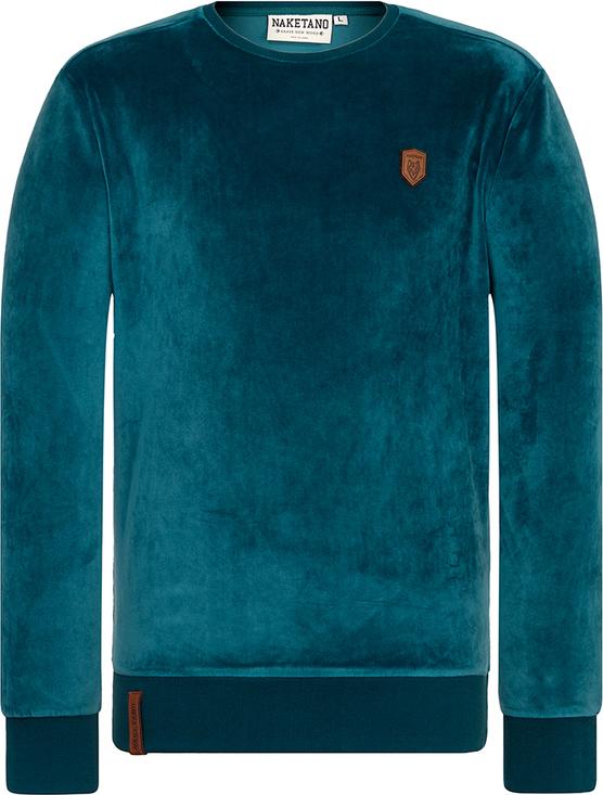 Bluza Naketano w sportowym stylu z dresówki