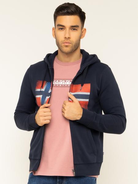 Bluza Napapijri z nadrukiem