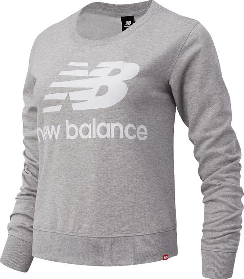 Bluza New Balance w sportowym stylu z tkaniny