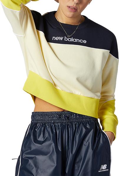 Bluza New Balance z polaru w sportowym stylu
