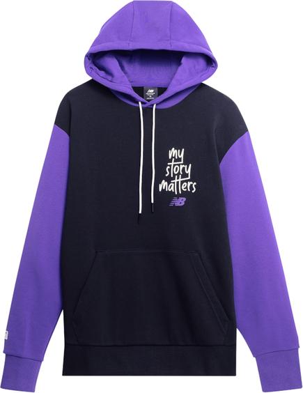 Bluza New Balance z tkaniny w młodzieżowym stylu