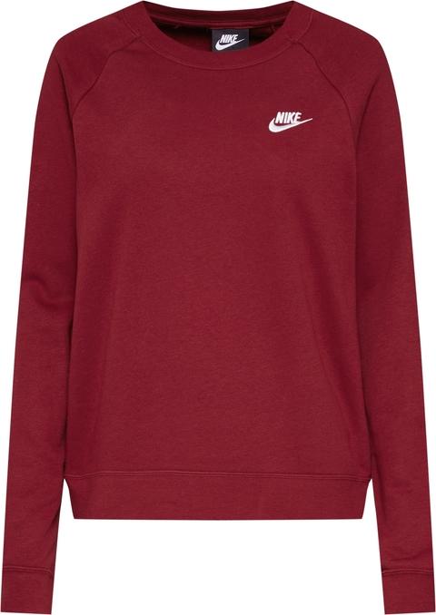 Bluza Nike Sportswear krótka z bawełny