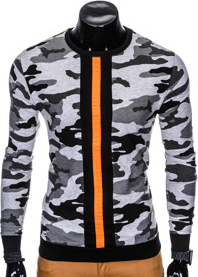 Bluza Ombre Clothing z bawełny w street stylu