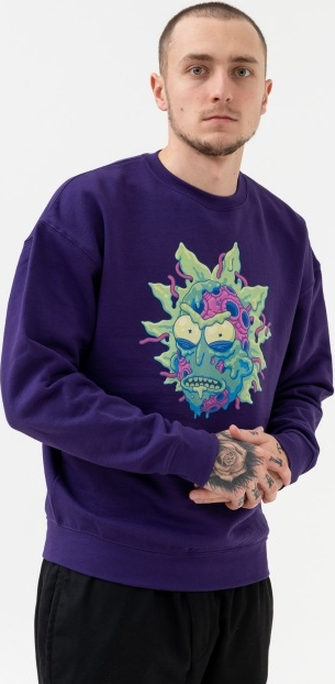 Bluza Rick And Morty z dzianiny