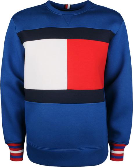"""Bluza Tommy Hilfiger Bluza """"neoprene"""" w młodzieżowym stylu z tkaniny"""