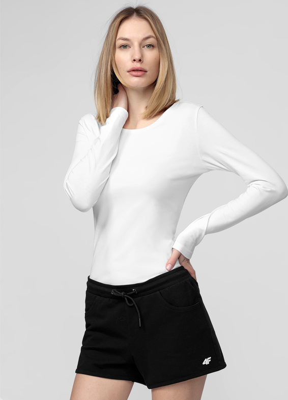 Bluzka 4F w stylu casual z bawełny z długim rękawem