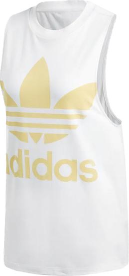 Bluzka Adidas w sportowym stylu z bawełny