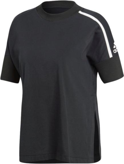 Bluzka Adidas w sportowym stylu z dzianiny