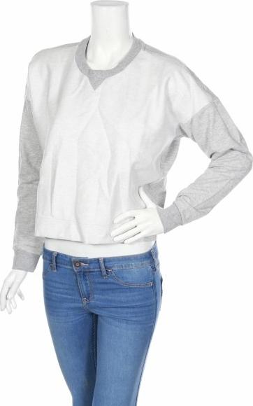 Bluzka Adidas z długim rękawem z okrągłym dekoltem
