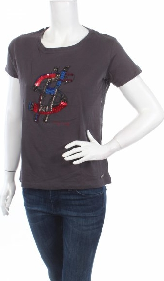 Bluzka Andy Warhol by Pepe Jeans z okrągłym dekoltem