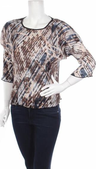 Bluzka Apart z długim rękawem z okrągłym dekoltem