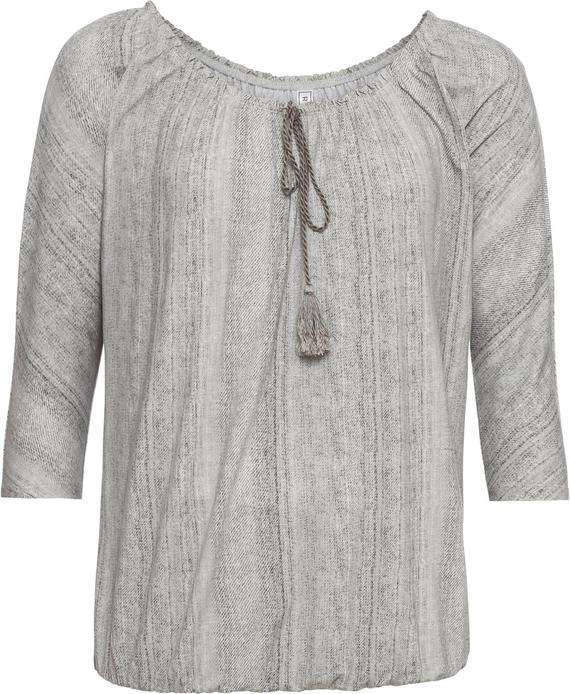 Bluzka bonprix RAINBOW w stylu casual z długim rękawem