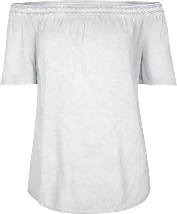 Bluzka comma, z krótkim rękawem